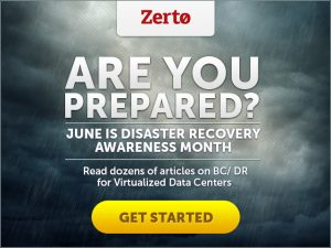 Disaster Recovery Awareness Month
