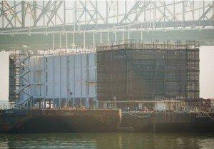 Google floating data center barge