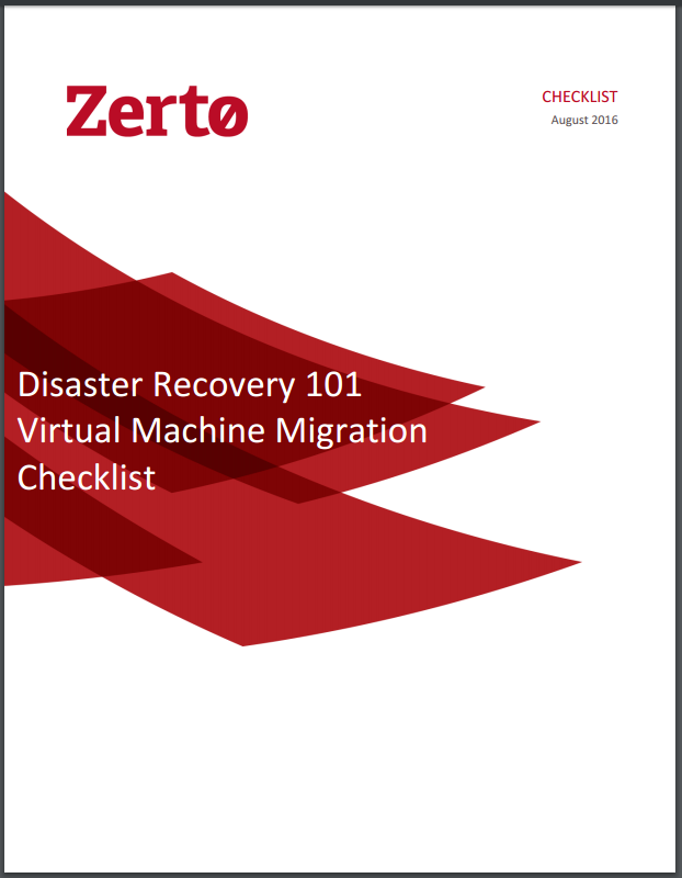 Virtual Migration Checklist
